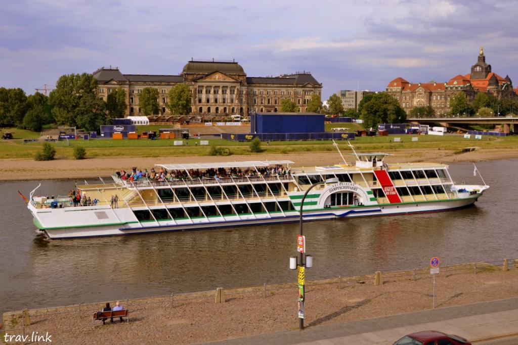 самый старый речной пароход в мире
