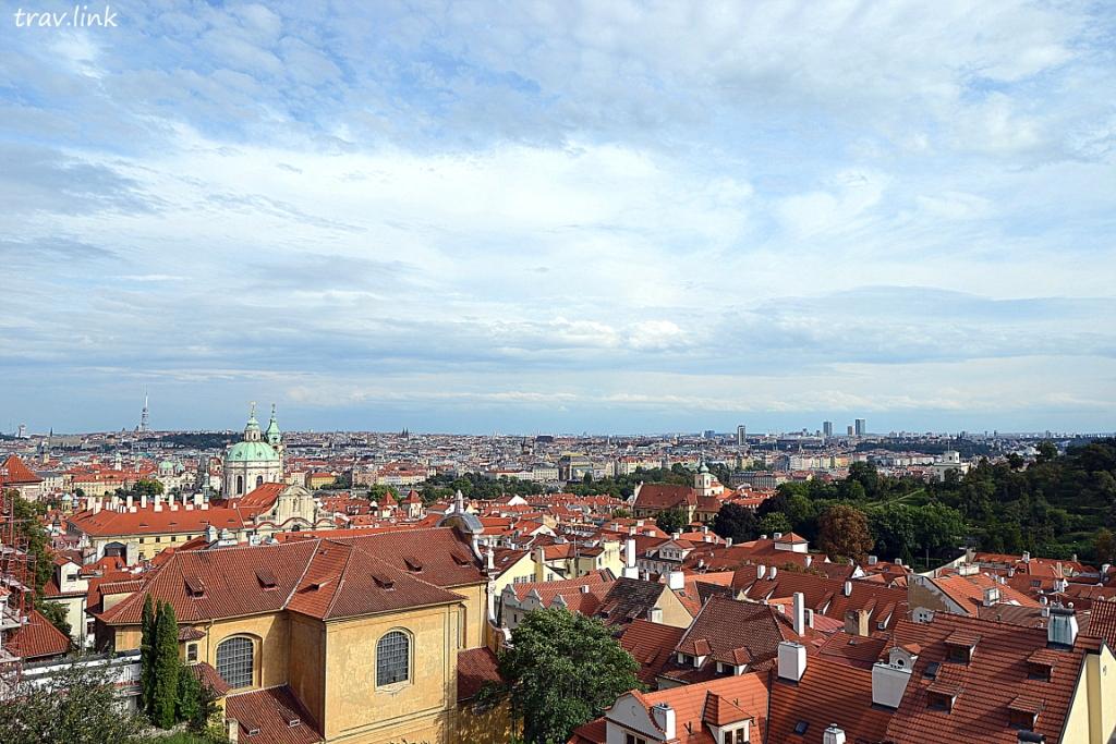 вид с Пражского града фото