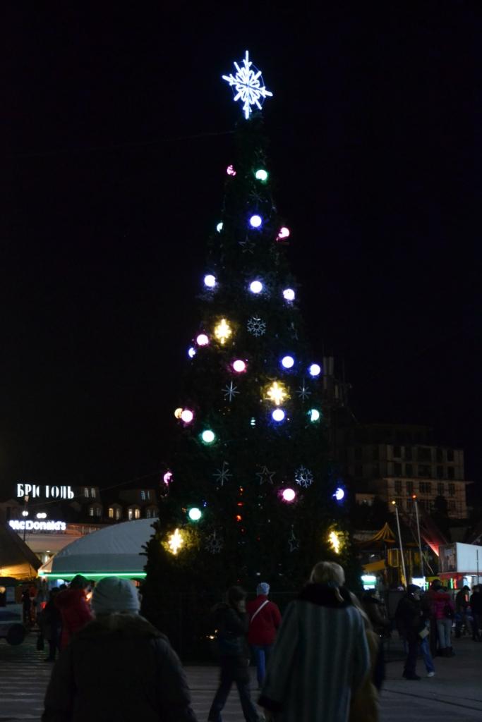 2013-й новый год в Ялте