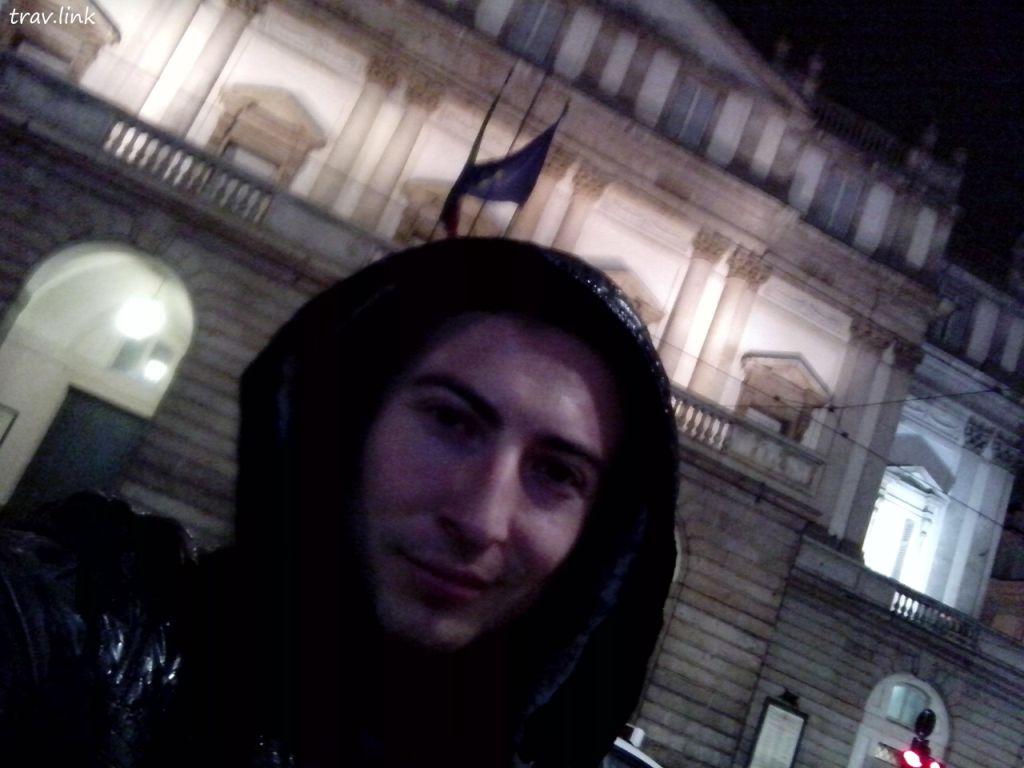 Русфет Кадыров в Милане, Италия.