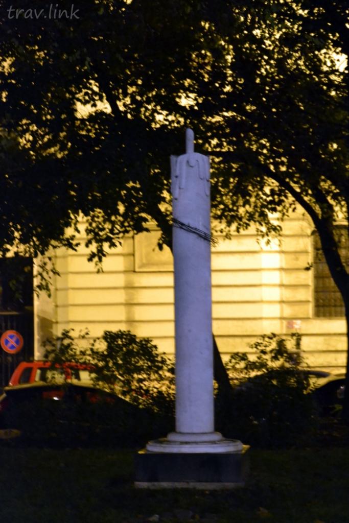 памятник голодомору в Будапеште