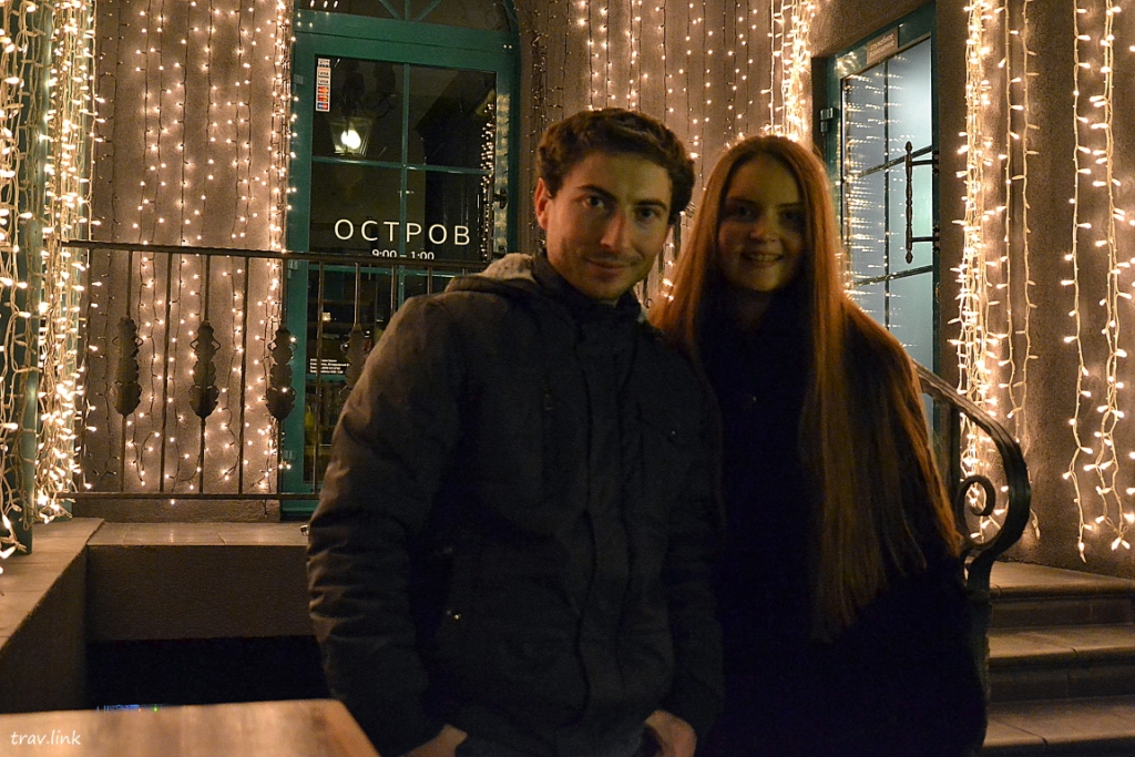 Русфет и Саша в Севастополе