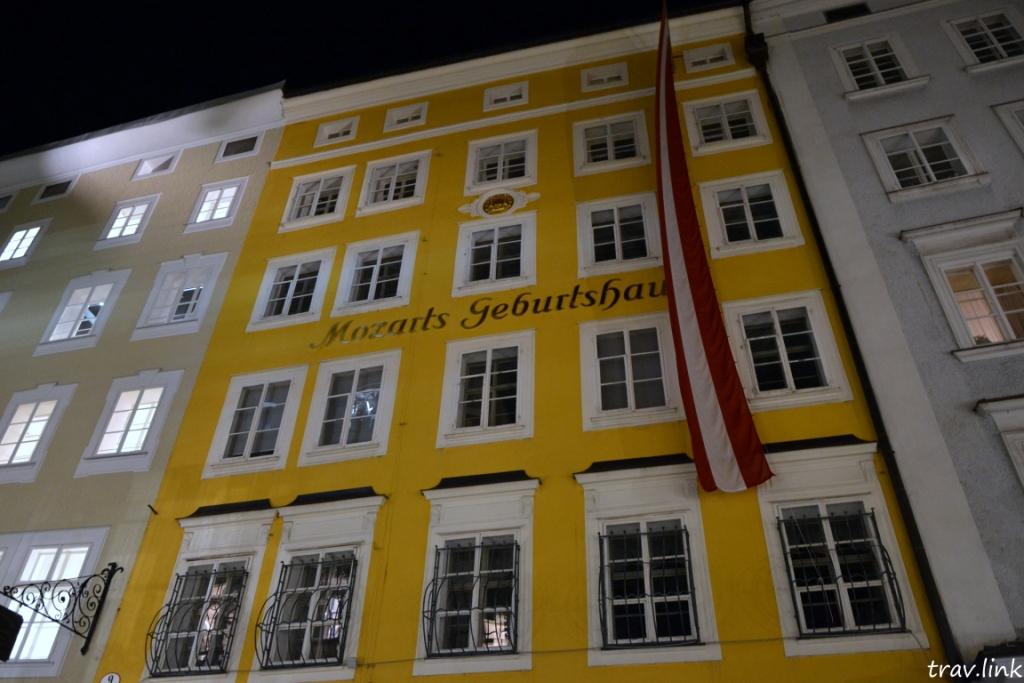 дом Моцарта в Зальцбурге Австрия