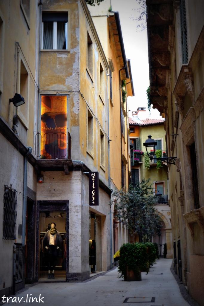 улица Вероны Италия
