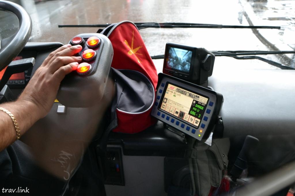 в общественном транспорте Италии