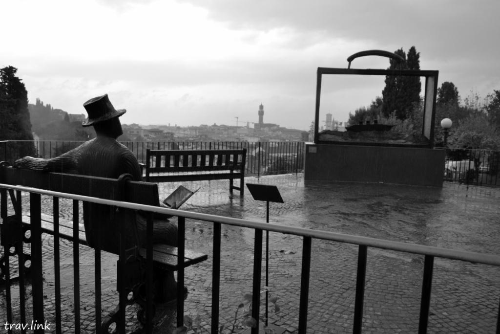 парк во Флоренции фото