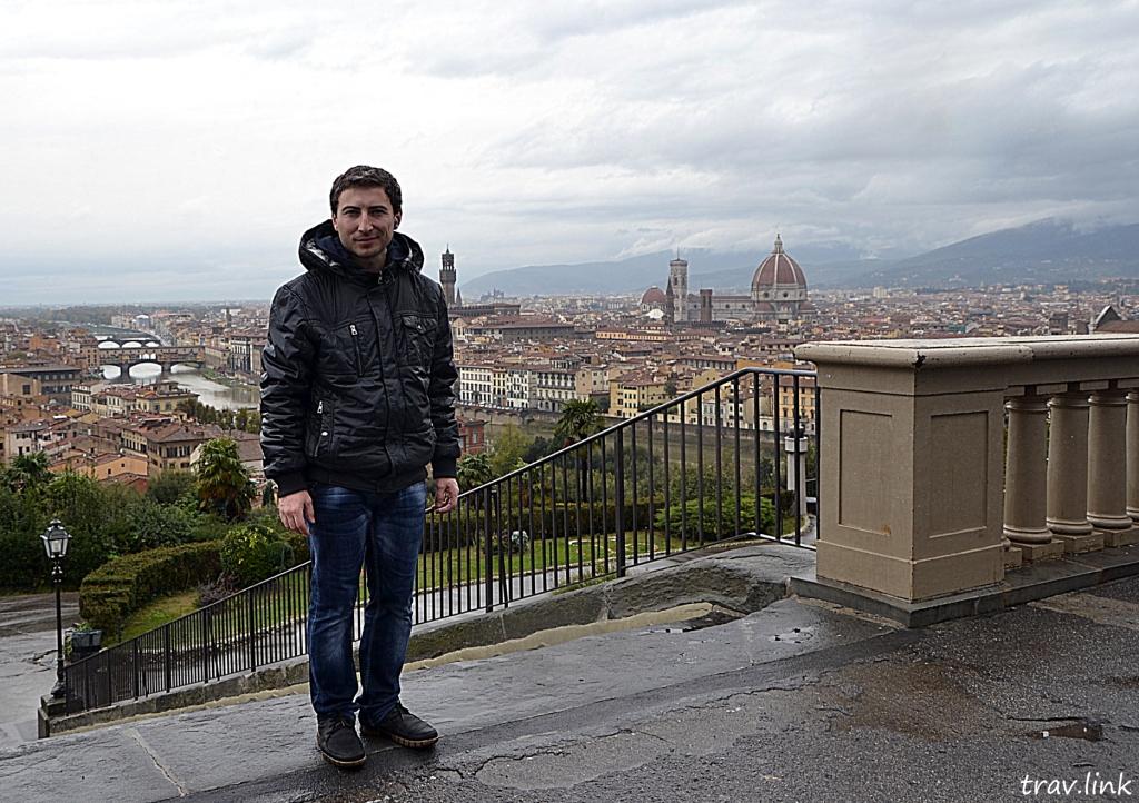 Русфет Кадыров во Флоренции (Италия)