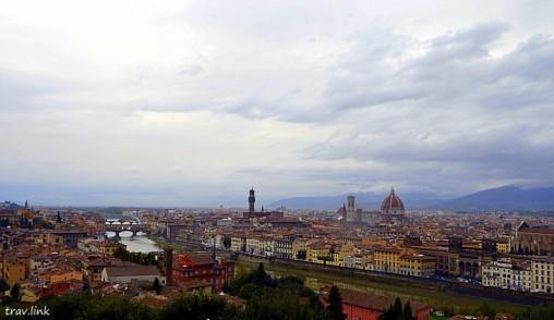 панорама Флоренции фото