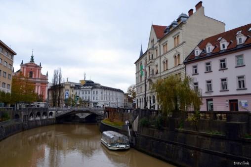 Любляна -столица Словении фото