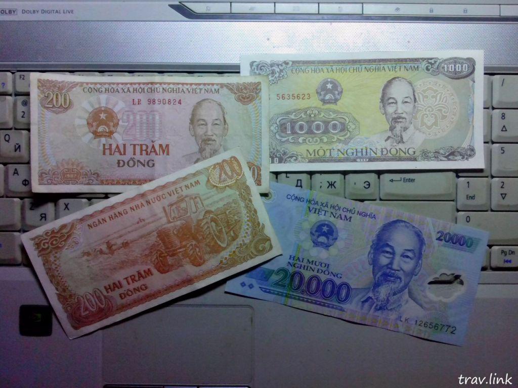 1 доллар во вьетнаме