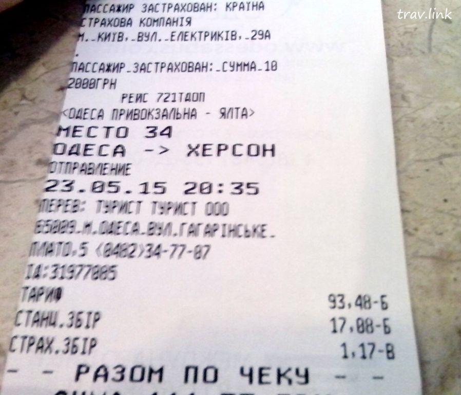 Одесса-Ялта