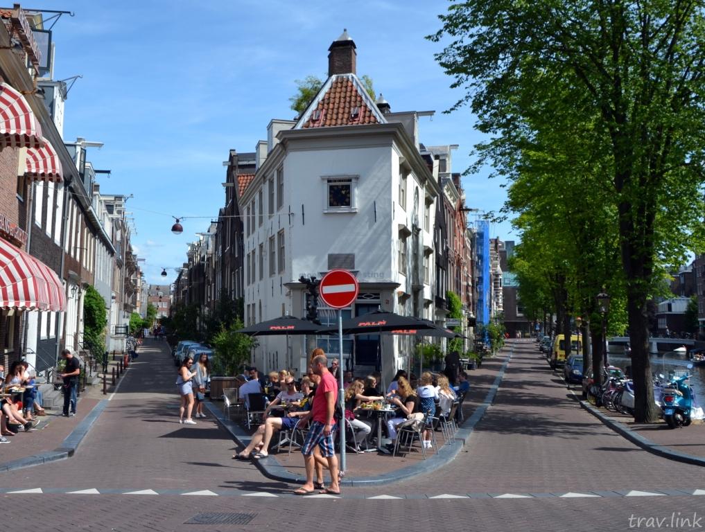 улицы Амстердама фото