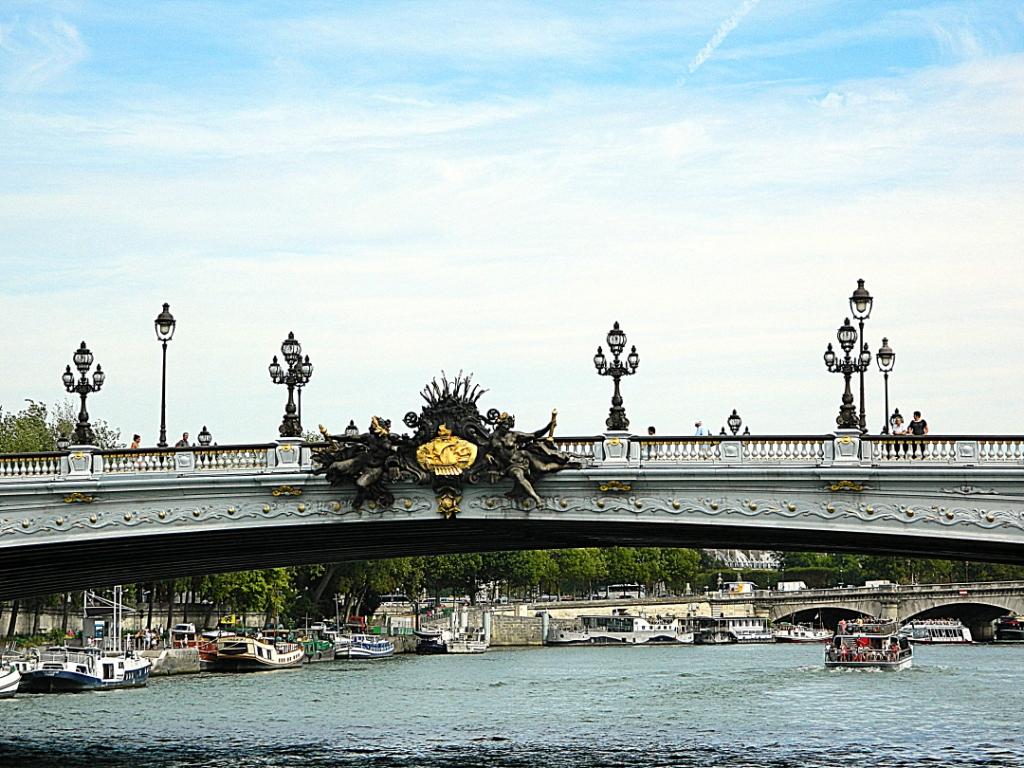 Мост Александра III (Pont Alexandre III) фото