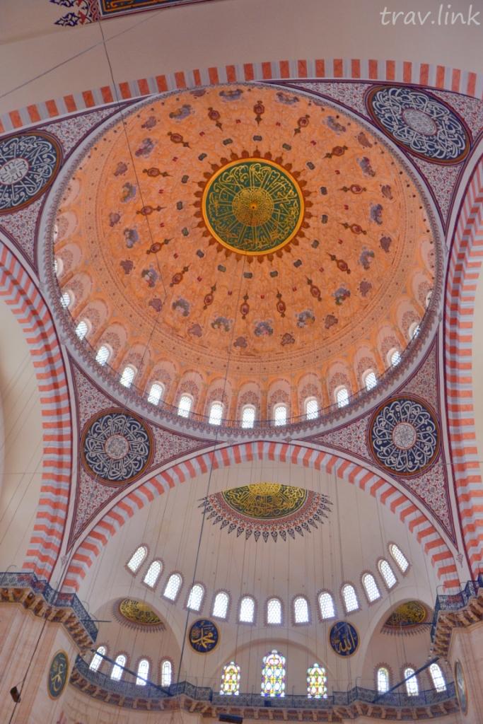 мечеть Сулеймание в Стамбуле фото купола