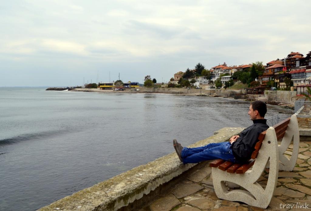 Русфет Кадыров в Болгарии. Фото Несебр.