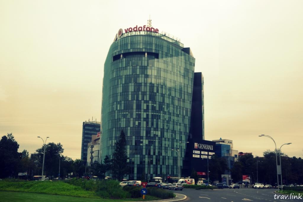 небоскребчик в Румынии
