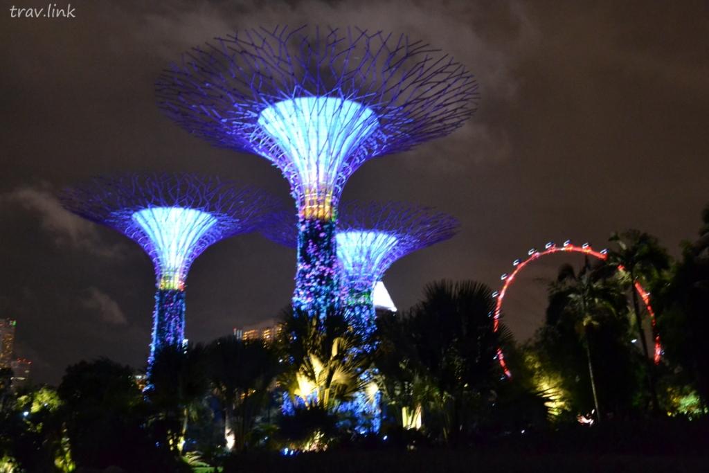 Сингапурские супердеревья фото