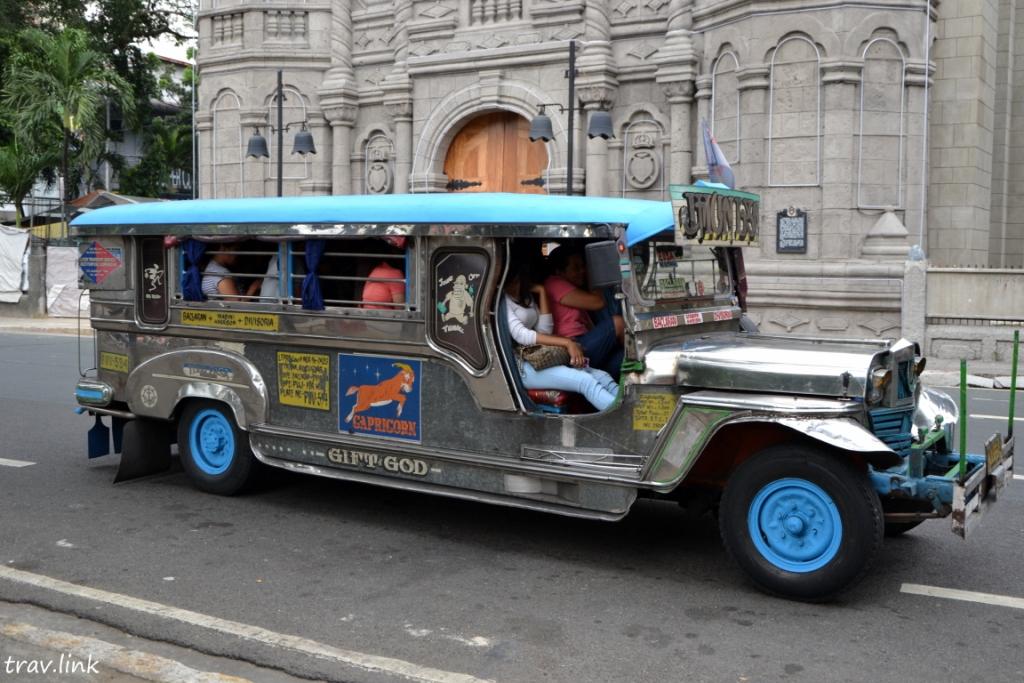 джипни в Маниле фото