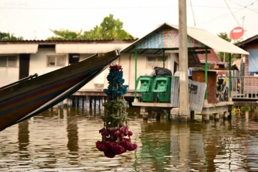 плавучий рынок в Бангкоке фото