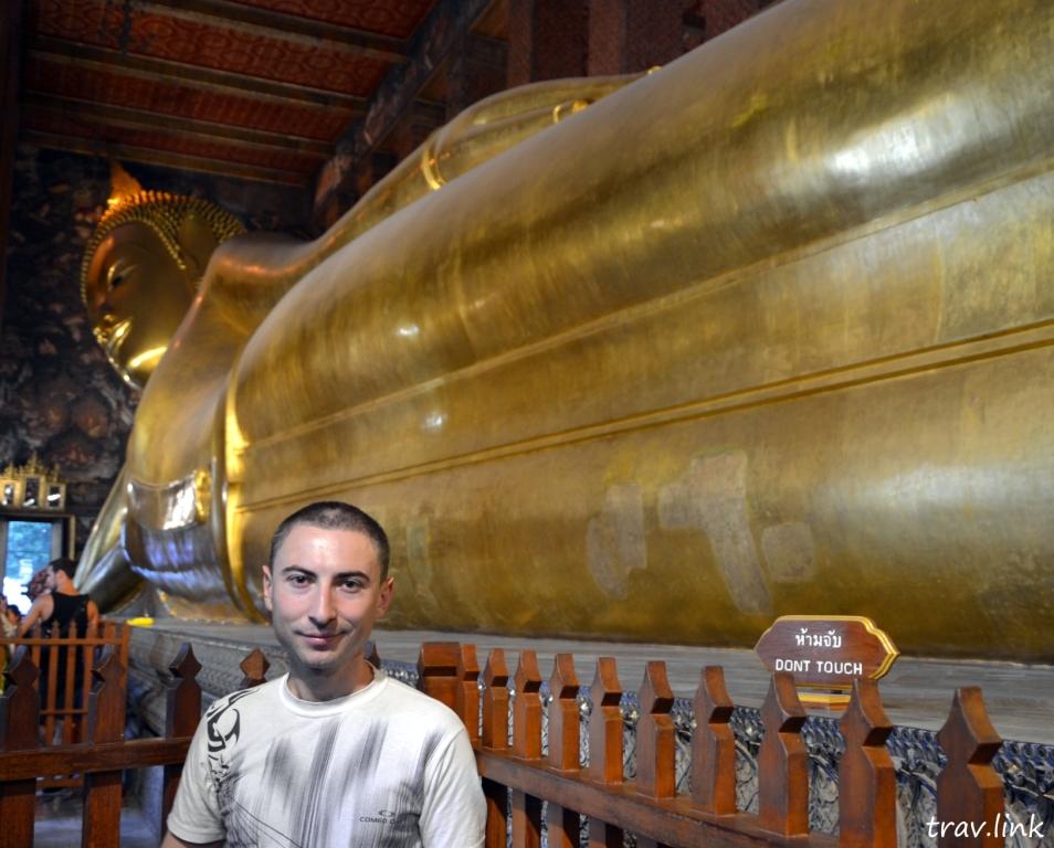 Храм лежащего Будды в Бангкоке: Кадыров Русфет