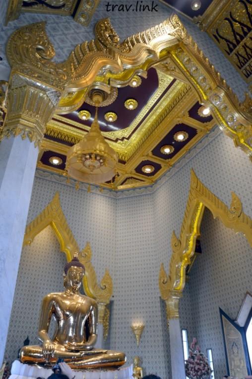 храм золотого Будды в Бангкоке фото