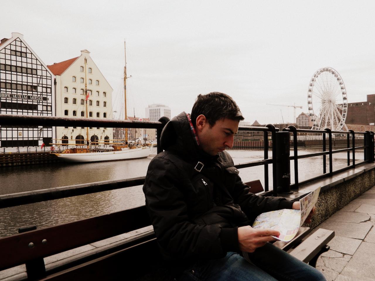 Русфет Кадыров в Гданьске Польша
