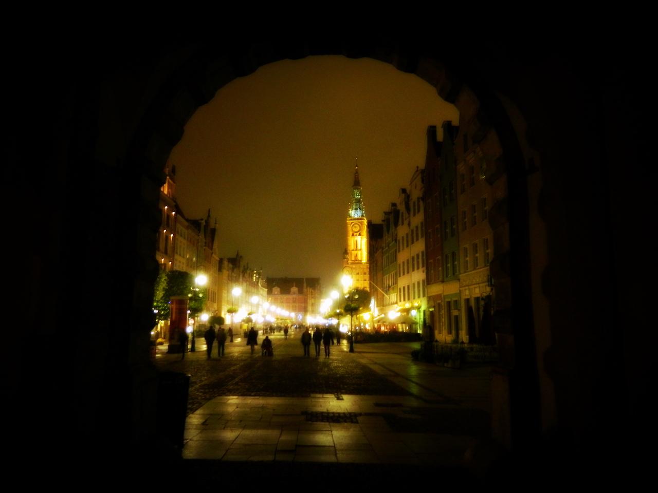 Город Гданьск Польша фото