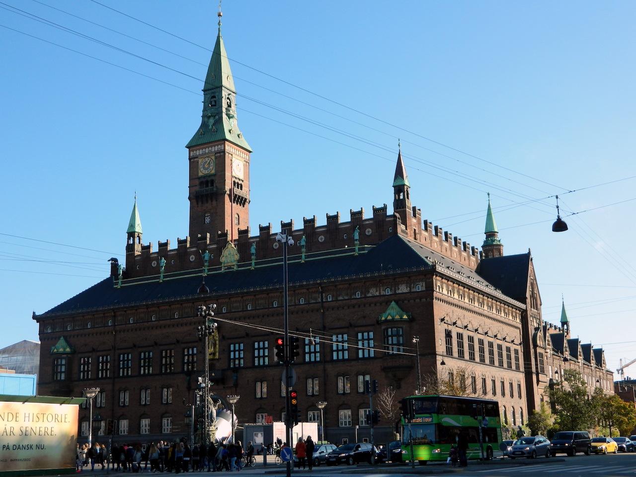Копенгаген Ратуша фото