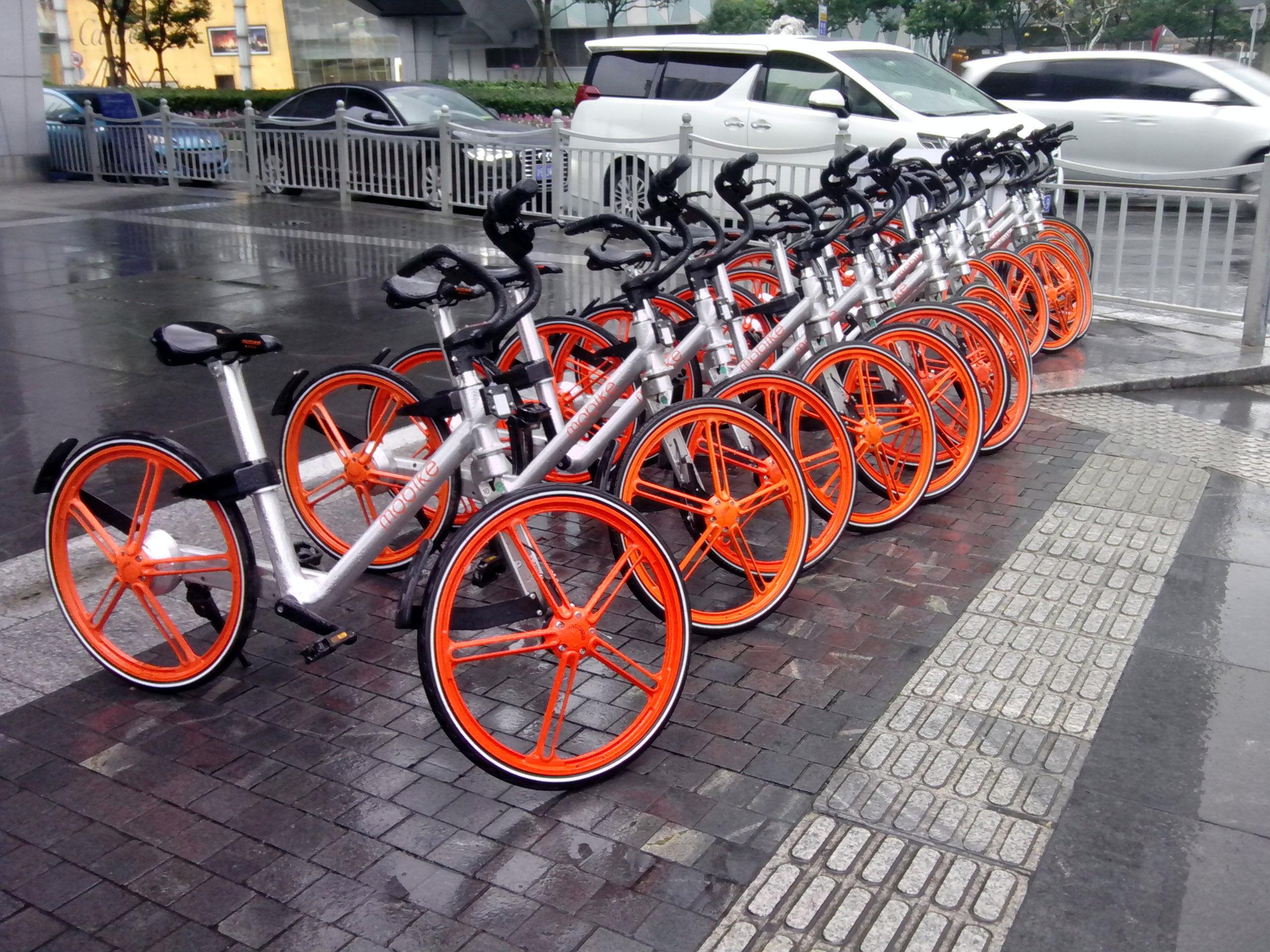 Велопрокат в Шанхае