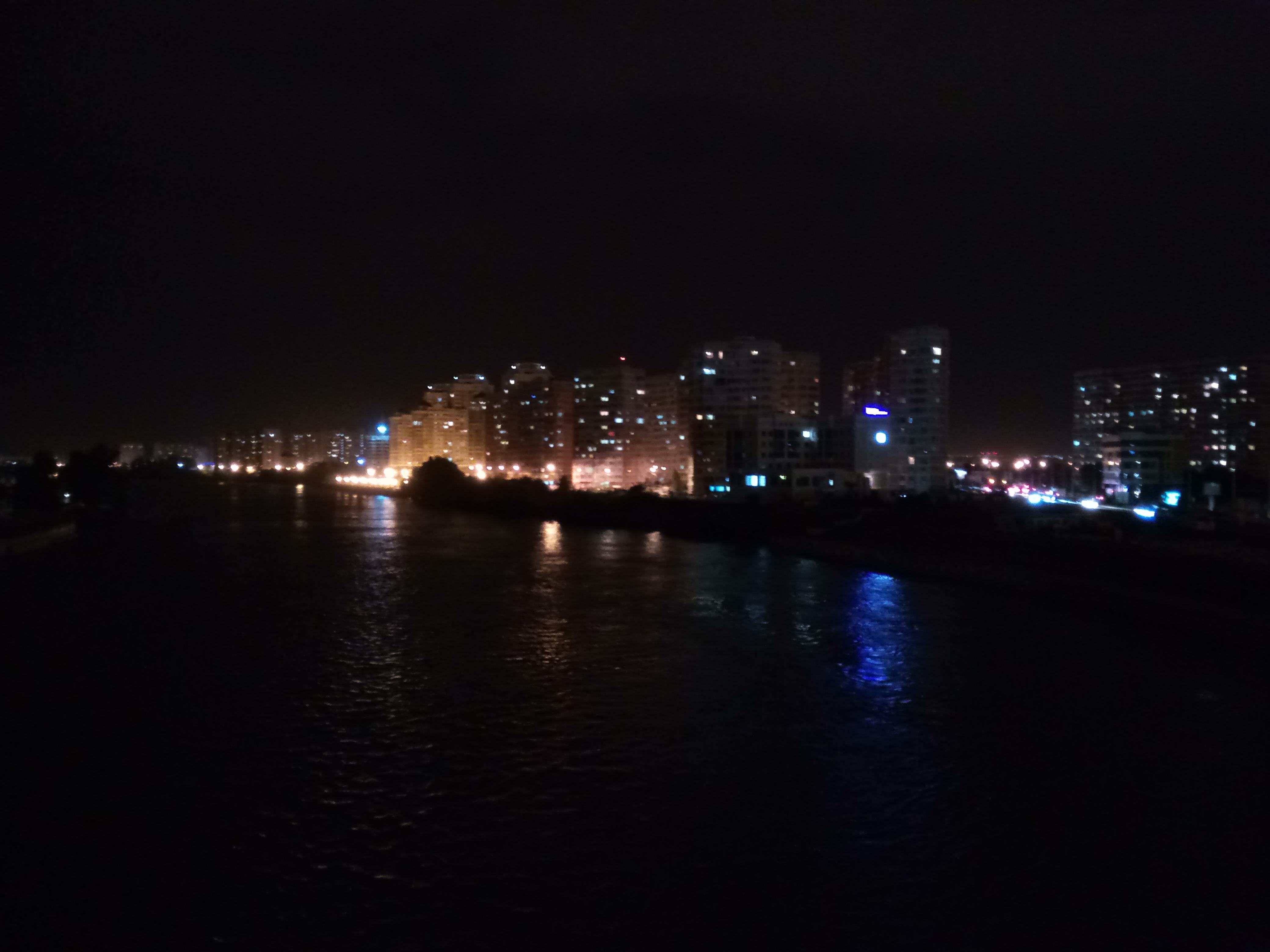 Вид с Тургеневского моста Краснодара