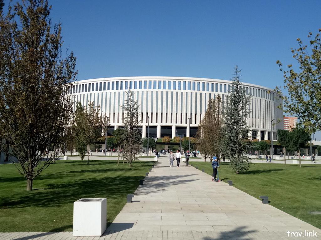 парк в Краснодаре возле стадиона