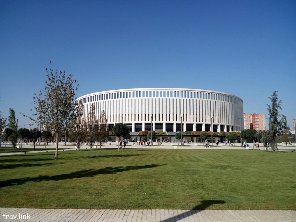 новый парк в Краснодаре около стадиона Краснодар