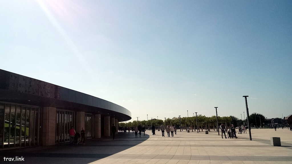 парк стадиона Краснодар