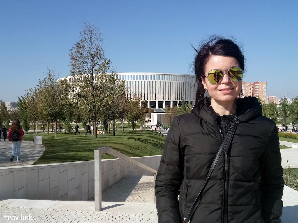 фото парка возле стадиона Краснодар