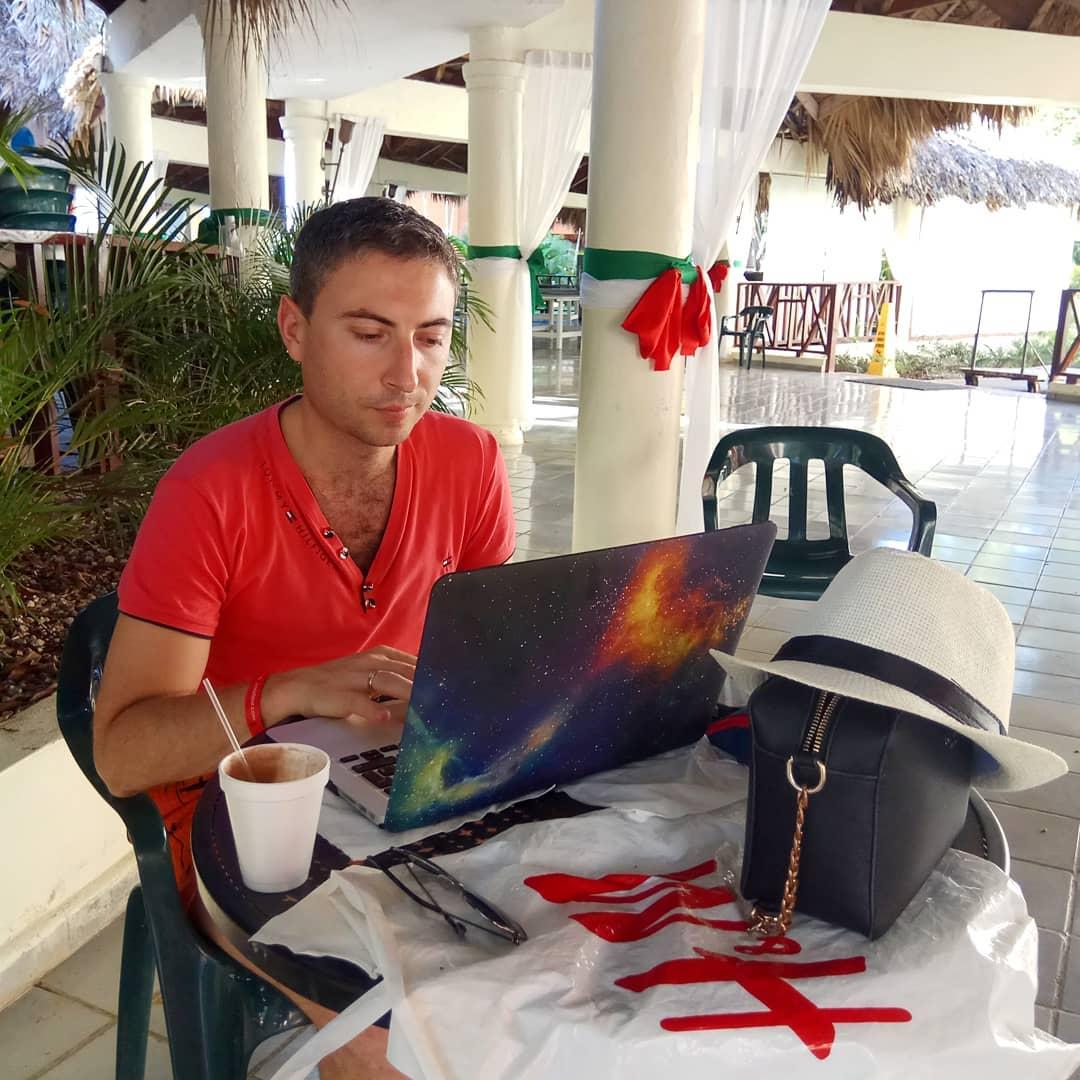 Русфет Кадыров в Доминикане